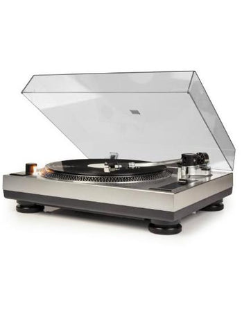 C100 Turntable in Silver design by Crosley