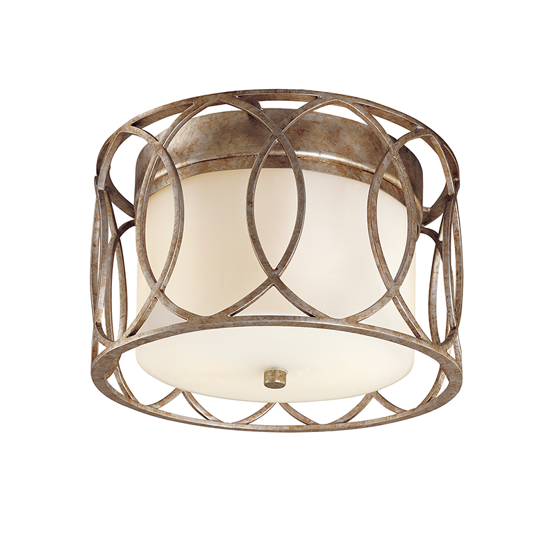 Sausalito 2 Light Ceiling Flush Mount