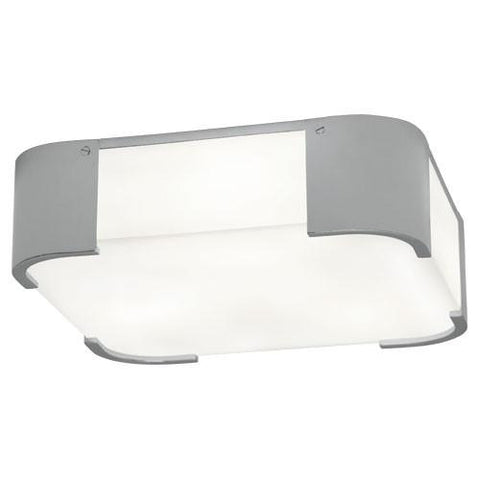 Bryce Flush Mount in Polished Chrome design by Robert Abbey