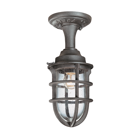 Wilmington Semi-Flush Mount Small by Troy Lighting