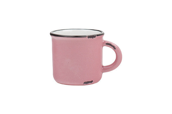 Tinware Espresso Mug in Pink design by Canvas