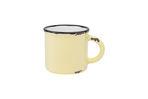 Tinware Espresso Mug in Yellow design by Canvas