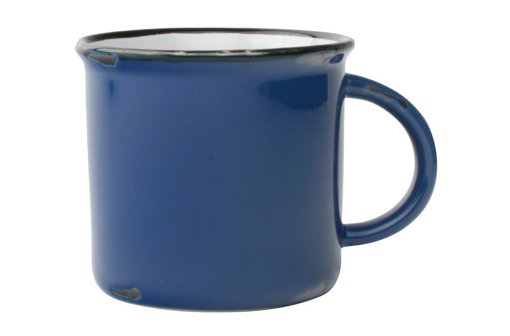Tinware Mug in Blue design by Canvas