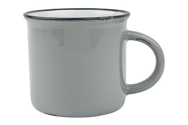 Tinware Mug in Light Grey design by Canvas