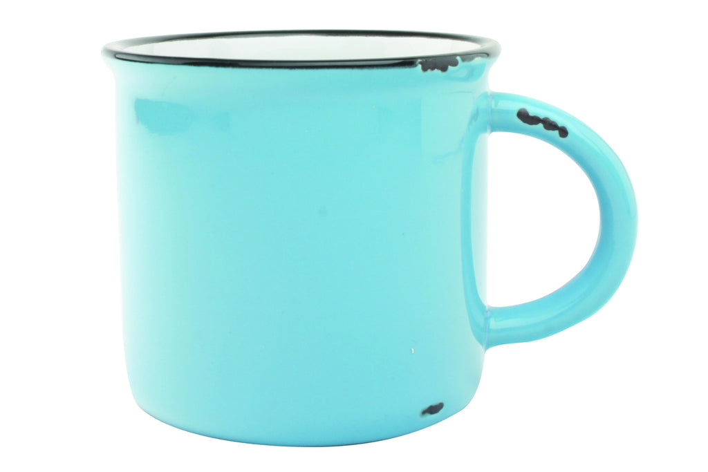Tinware Mug in Teal design by Canvas