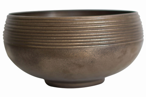 Anabra XL Bowl in Bronze Lustre design by Canvas
