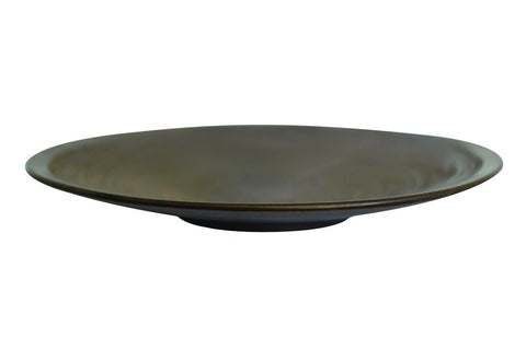 Anabra Platter Bowl in Bronze Lustre design by Canvas