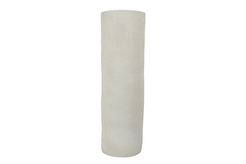 Medium Taroudant Vase in White Linen Texture design by Canvas