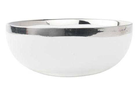 Dauville Platinum Glazed Cereal Bowl