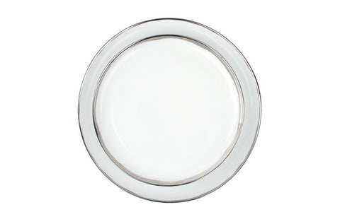 Dauville Platinum Glazed Dinner Plate