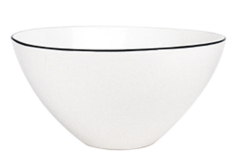 Abbesses Large Bowl Black Rim design by Canvas