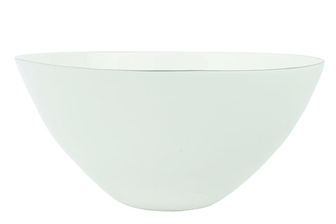 Abbesses Bowl in Platinum in Various Sizes design by Canvas - BURKE DECOR