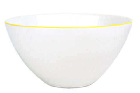 Abbesses Large Bowl Yellow Rim design by Canvas