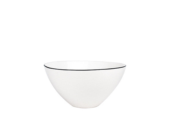 Abbesses Small Bowl Black Rim design by Canvas
