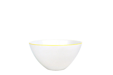Abbesses Small Bowl Yellow Rim design by Canvas