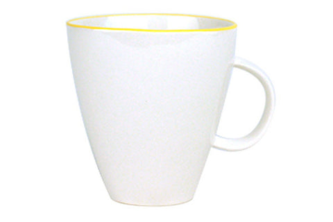 Abbesses Mug Yellow Rim design by Canvas