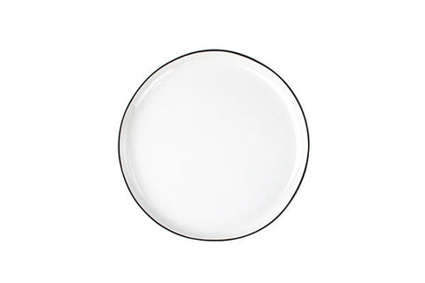 Abbesses Medium Plate Black Rim design by Canvas