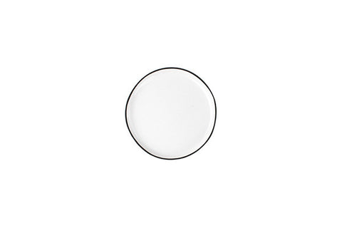 Abbesses Small Plate Black Rim design by Canvas