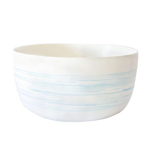 Charmouth Serving Bowl in Blue design by Canvas