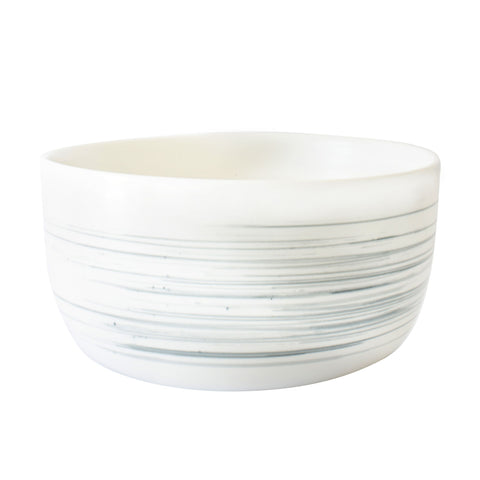 Charmouth Serving Bowl in Grey design by Canvas