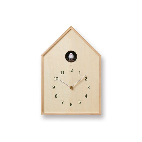 Birdhouse Clock design by Lemnos