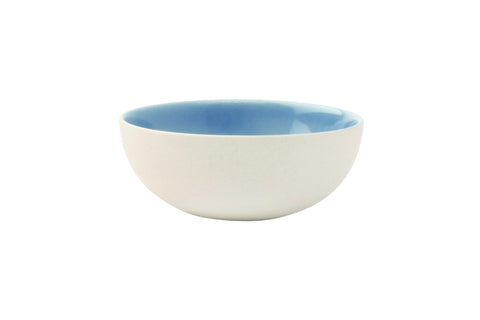 Shell Bisque Tiny Bowl in Blue design by Canvas