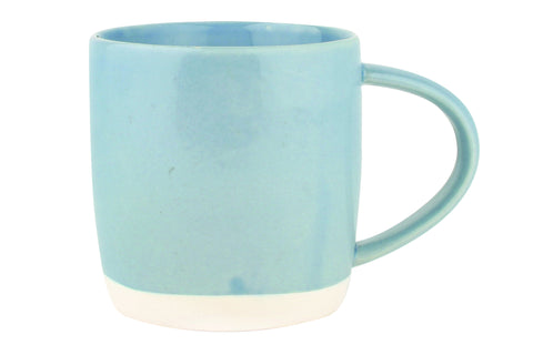 Shell Bisque Mug in Blue design by Canvas