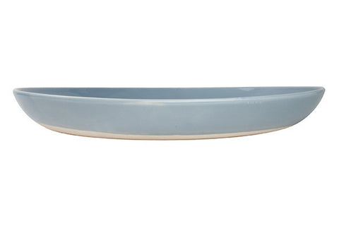 Shell Bisque Salad Serving Bowl in Blue design by Canvas
