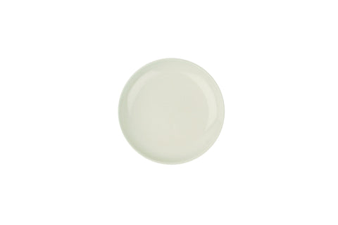 Shell Bisque Tidbit Plate in White