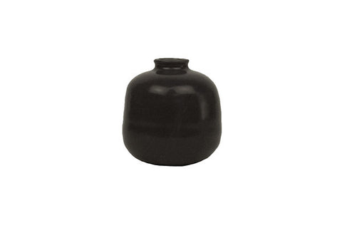Morandi Medium Bud Vase in Black design by Canvas