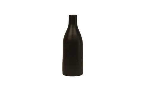 Morandi Small Bottle Vase in Black design by Canvas