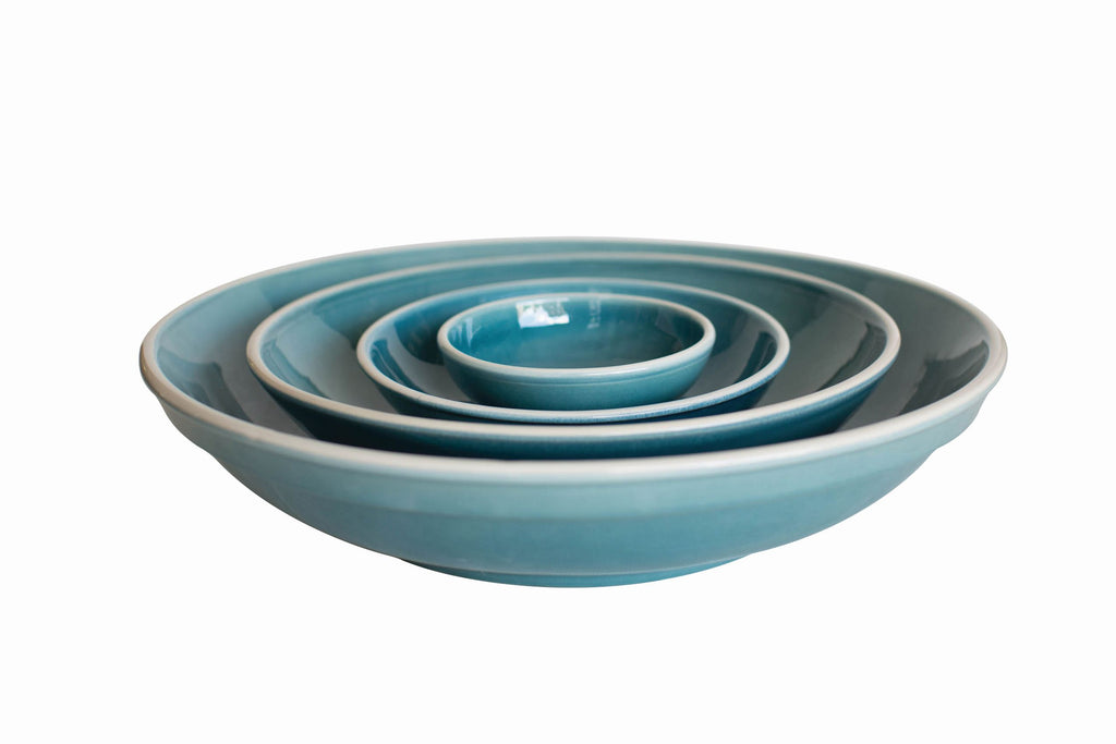 Gerona Blue Nesting Bowl in Various Sizes design by Canvas