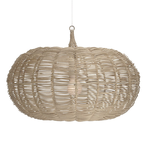 Natural Large Calabash Hanging Pendant in Natural design by Selamat