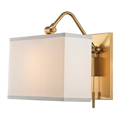 Leyden 1 Light Wall Sconce by Hudson Valley Lighting