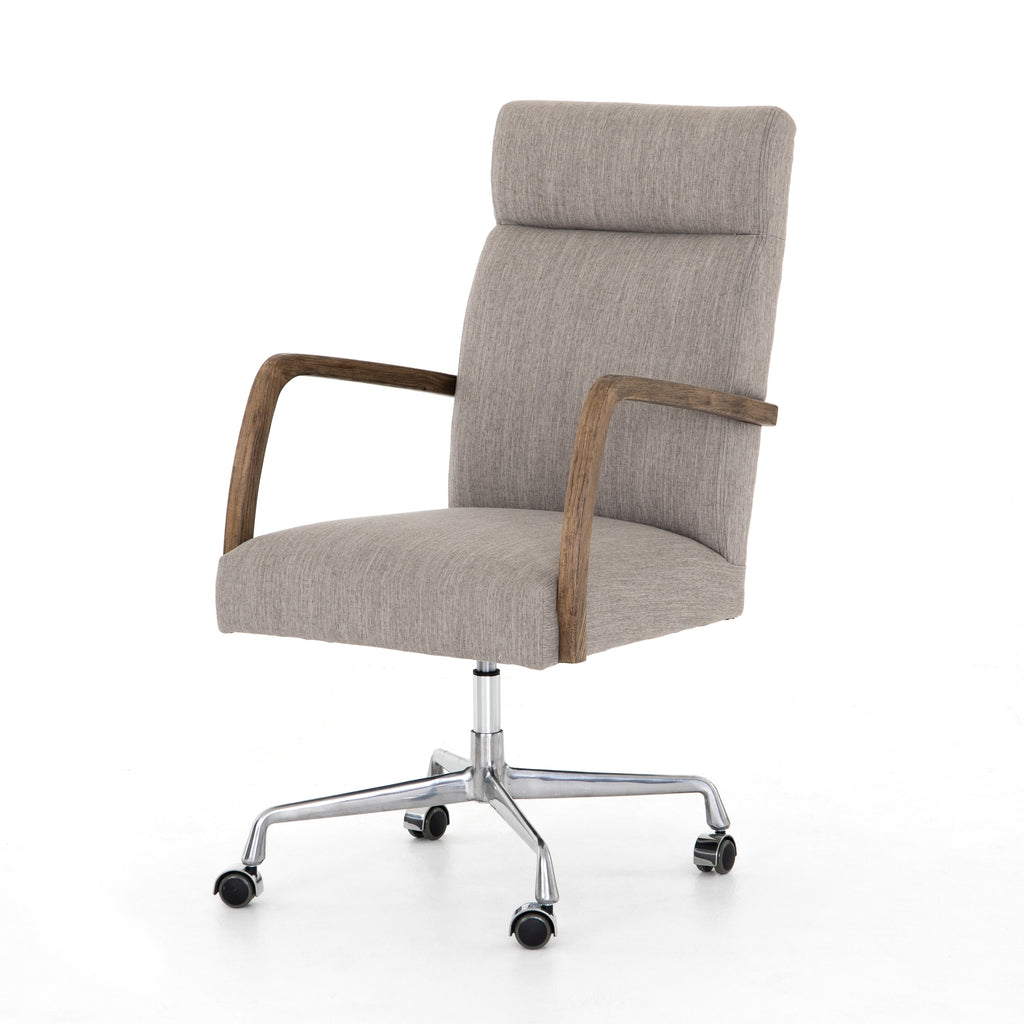 Bryson Desk Chair in Savile Flannel