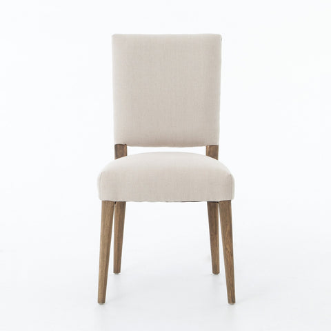 La Row Dining Chair in Dark Linen design by BD Studio