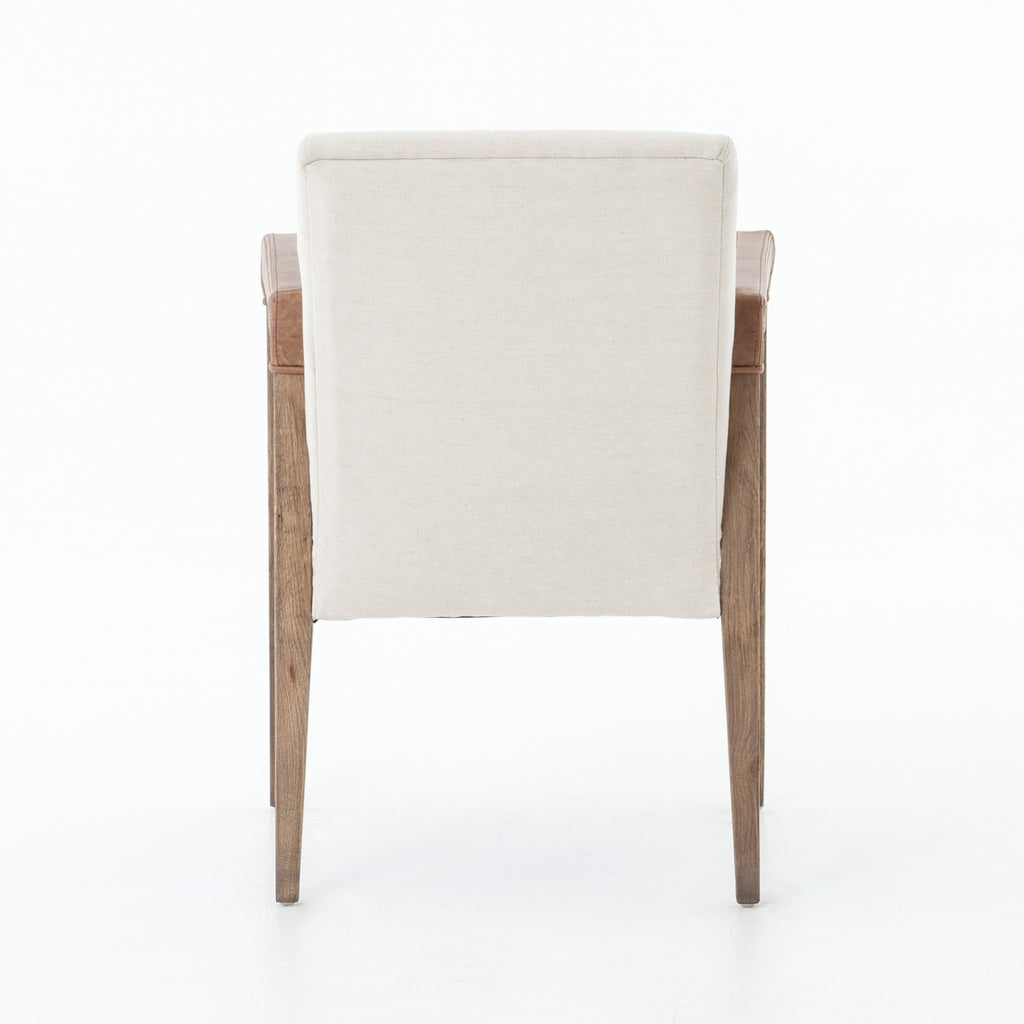 La Row Dining Chair in Chaps Saddle