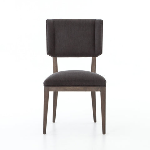 Jax Dining Chair in Misty Black by BD Studio