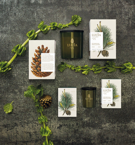 Les Saisons Aromatic Candle design by Lucia