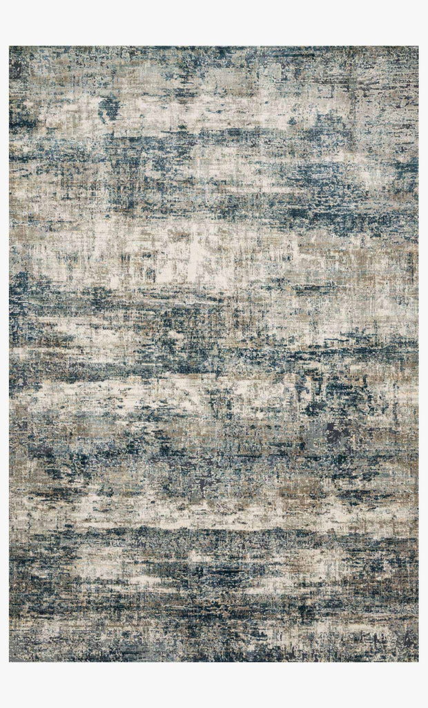 Cascade Rug in Ocean & Grey design by Loloi