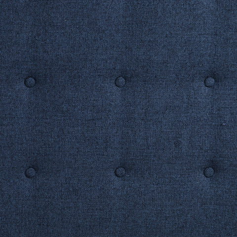 Jefferson Bed in Indigo