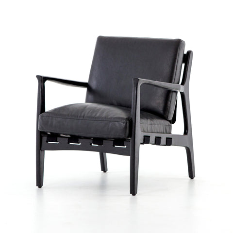 Silas Chair in Aged Black by BD Studio