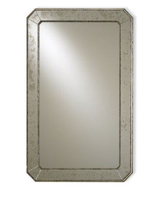 Antiqued Wall Mirror design by Currey & Company