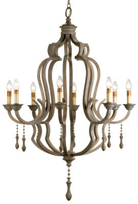 Waterloo Chandelier design by Currey & Company