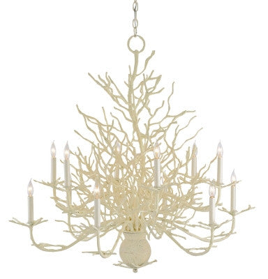 Large Seward Chandelier design by Currey & Company