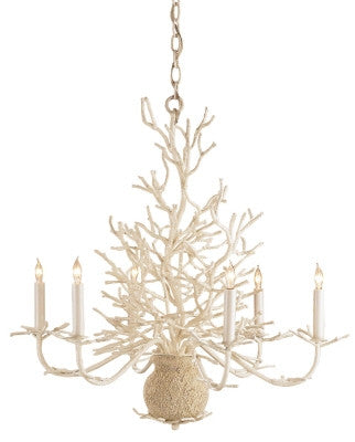 Seaward Chandelier design by Currey & Company