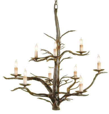 Treetop Chandelier design by Currey & Company