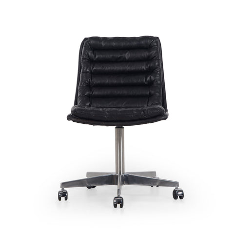 Malibu Desk Chair in Rider Black
