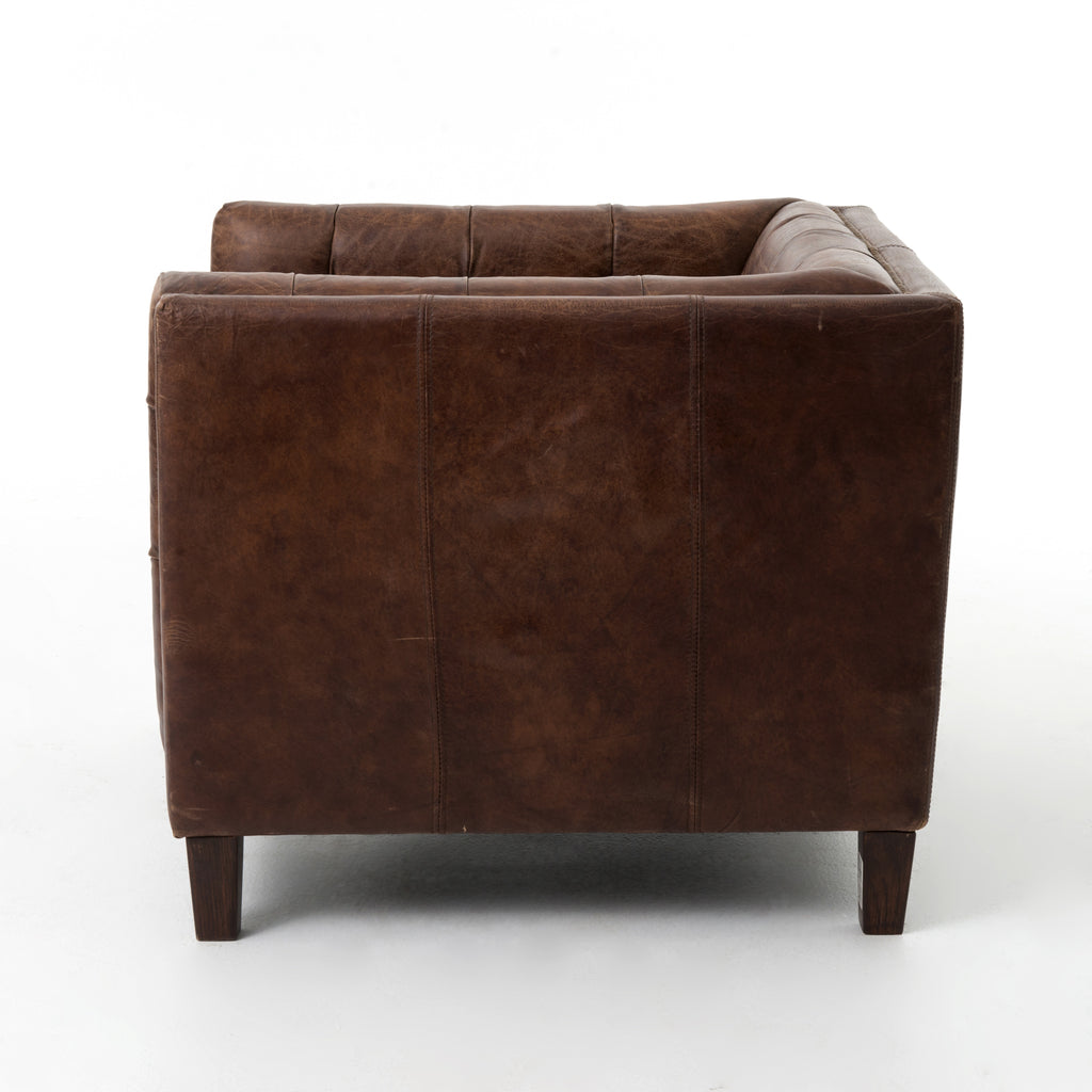 Abbott Club Chair in Cigar