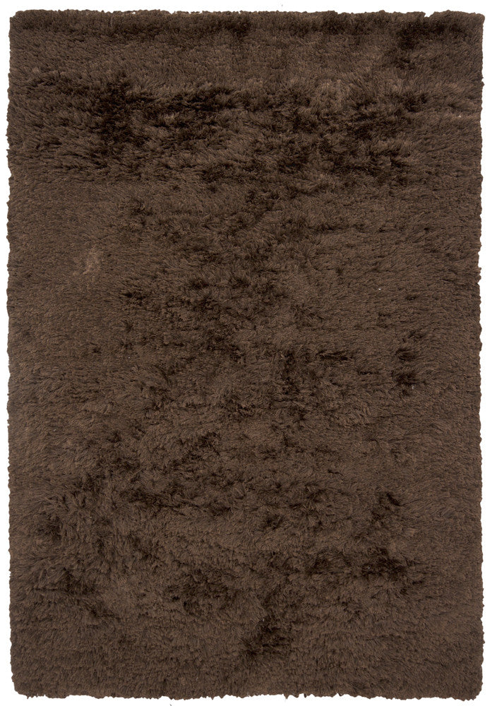 Celecot Collection Hand-Woven Area Rug in Dark Brown design by Chandra rugs